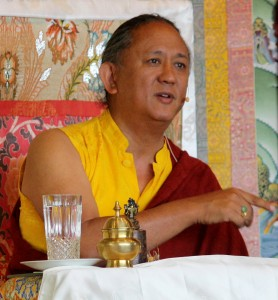 HE Dzigar Kongtrul Rinpoche teaching on the 'Mahayana Uttaratantra Shastra'.