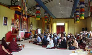 HE Dzigar Kongtrul Rinpoche teaching on the 'Mahayana Uttaratantra Shastra.'