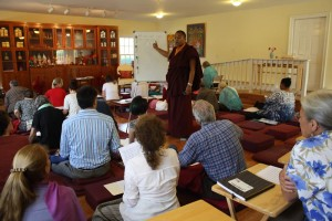 Tibetan language instruction with Ven. Acarya Namdrol Gyatso.