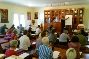 Tibetan class with Ven. Acarya Namdrol Gyatso