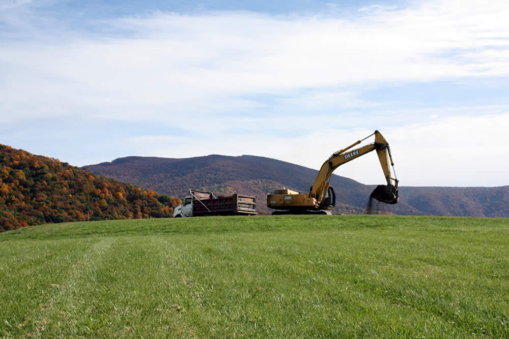 In October 2015, work began on the site of the new temple.