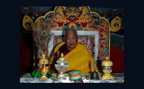 Kyabje Taklung Tsetrul Rinpoche
