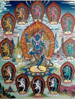 Thangka of Krodhi Kali