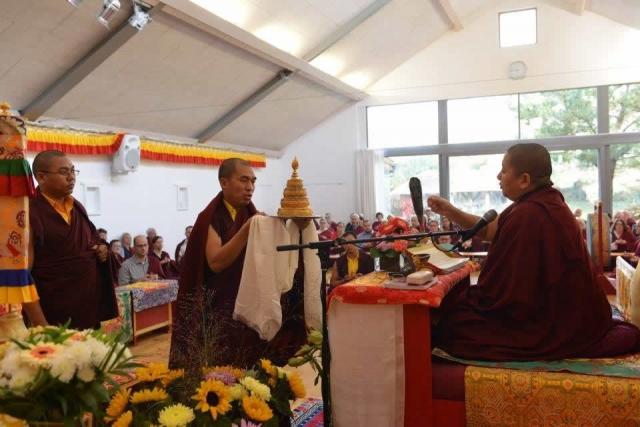 Mandala offering. October 2016.