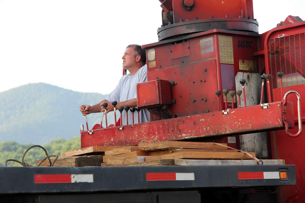 JULY 11-Crane operator.