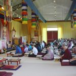 Jetsün Khandro Rinpoche teaching at Lotus Garden 2017