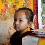 Minling Dungse Rinpoche on his 3rd birthday