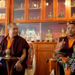 Ven. Lama Thinley Gyaltsen andVen. Lama Thrinley Gyaltsen and Ven. Acarya Namdrol Gyatso teaching at Mindrol Lekshey 2017