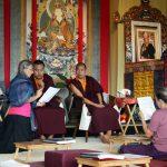 Tibetan language class.