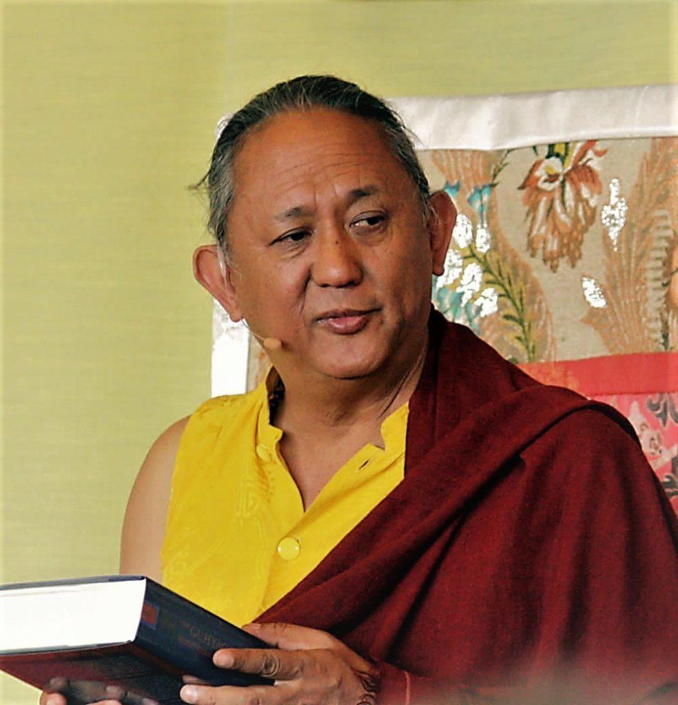 HE Dzigar Kongtrul Rinpoche at Lotus Garden 2017