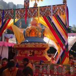 Cremation of Kyabje Taklung Tsetrul Rinpoche