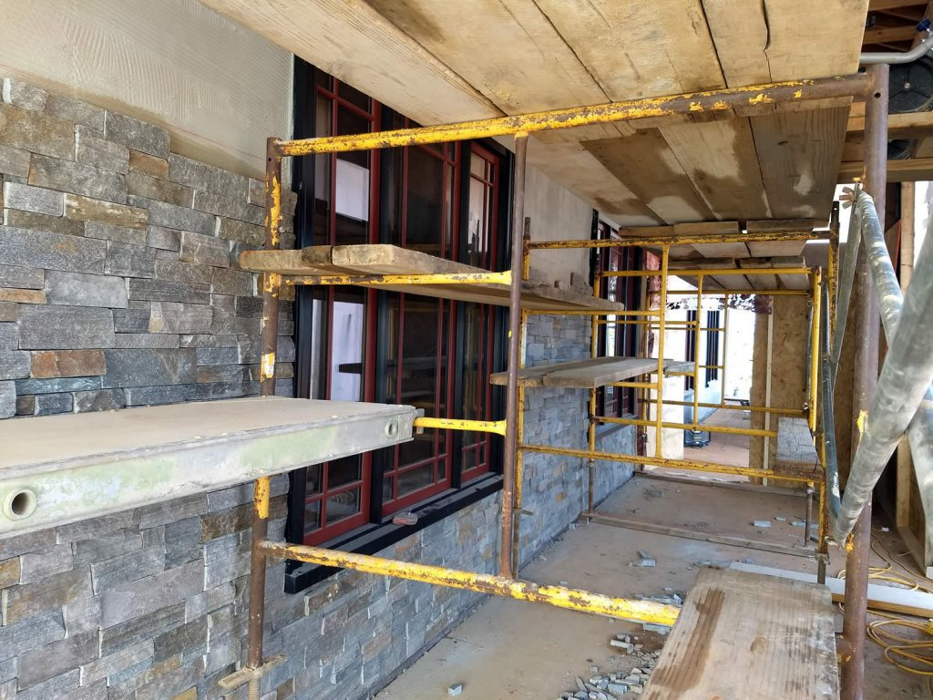 February 2019 | Stonework - East Lower Level