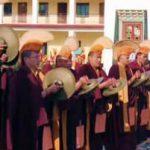 Mindrolling Monks during Shinje Drekjom Drubchen
