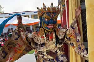 The Great Tse Chu ceremony at Mindrolling Monastery