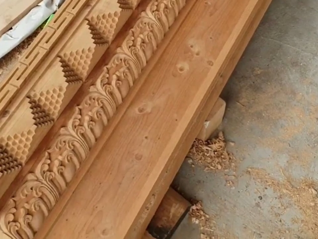 Carving Door Frames for the New Temple - Part 3