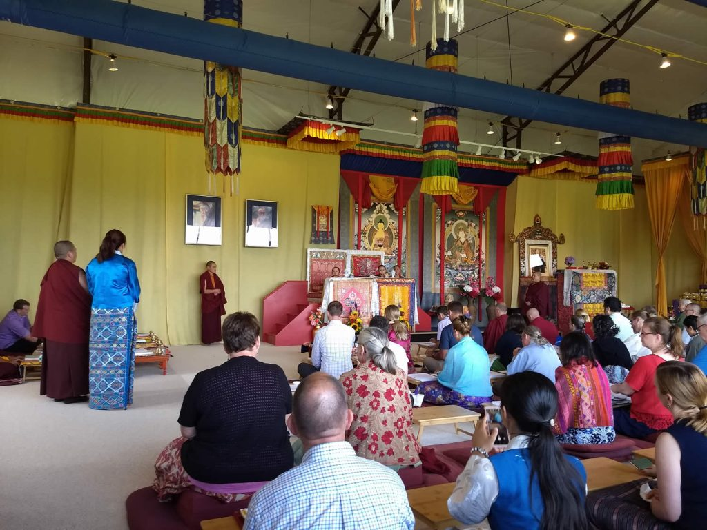 Minling Dungse Rinpoche's 4th Birthday