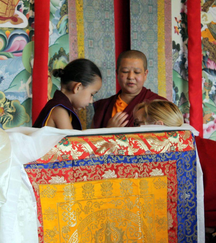 Jetsün Rinpoche with Lopön Barbara Ryan