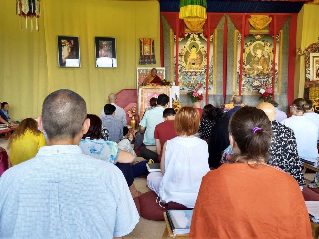 H.E. Dzigar Kongtrul Rinpoche teaching