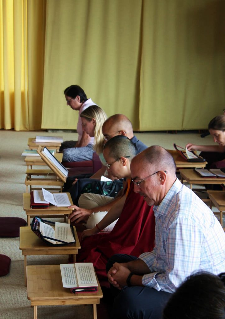 Tibetan language and reading class