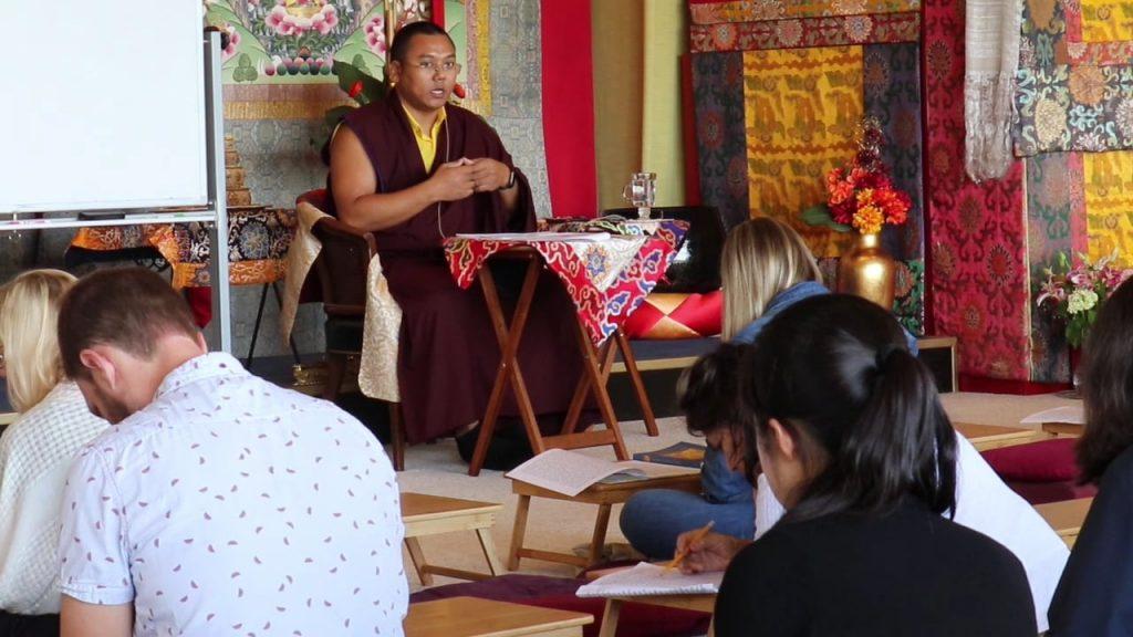 Class with Khenpo Namdrol Gyatso