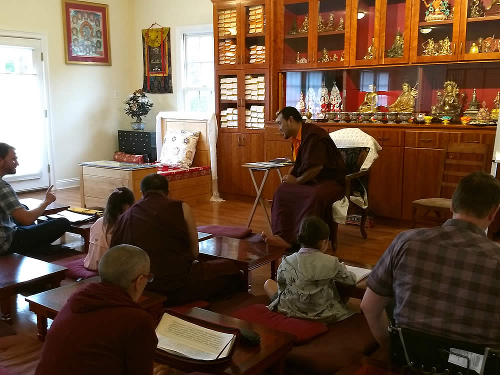 Establishing Mindrolling in the West | Training in the Renowned Traditions of Mindrolling