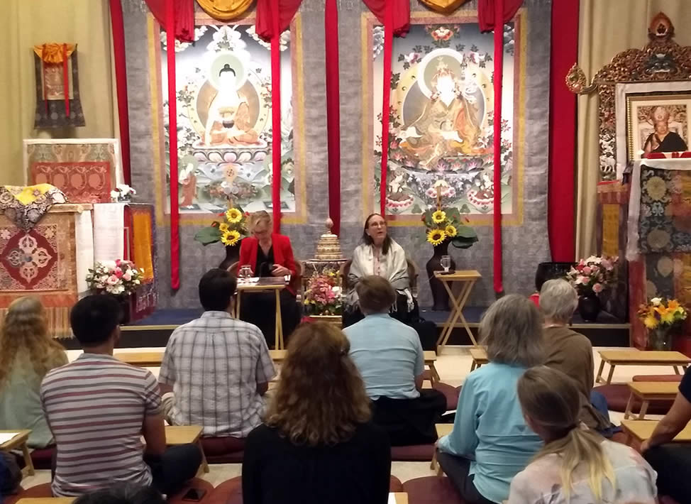 The Heart of the Vajrayana Path: Ngöndro Teachings - Lopons Orientation to the program