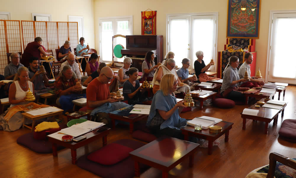 The Heart of the Vajrayana Path: Ngöndro Teachings - Mandala instruction
