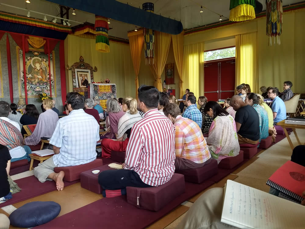 The Heart of the Vajrayana Path: Ngöndro Teachings - Listening to the Teachings