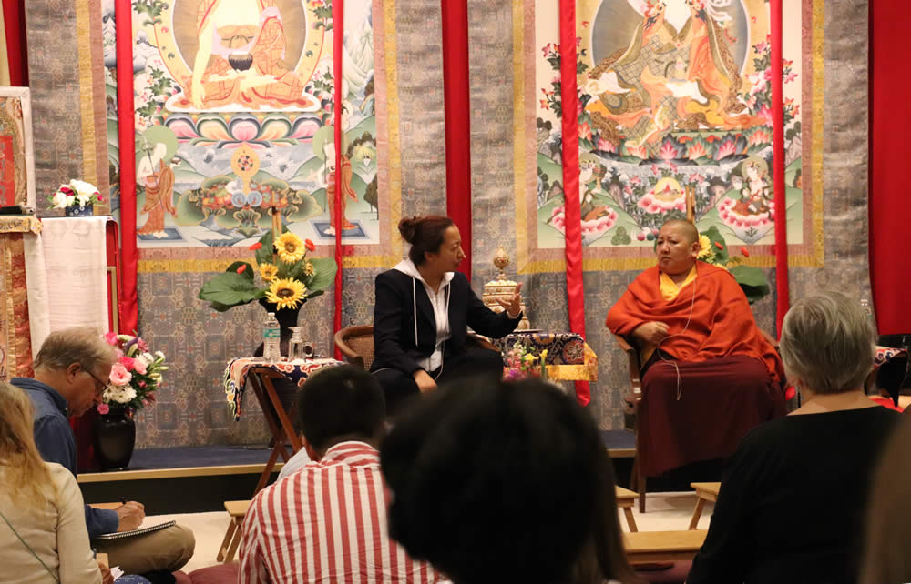 The Heart of the Vajrayana Path: Ngöndro Teachings - Q & A with Jetsun Khandro Rinpoche and Jetsun Dechen Paldron