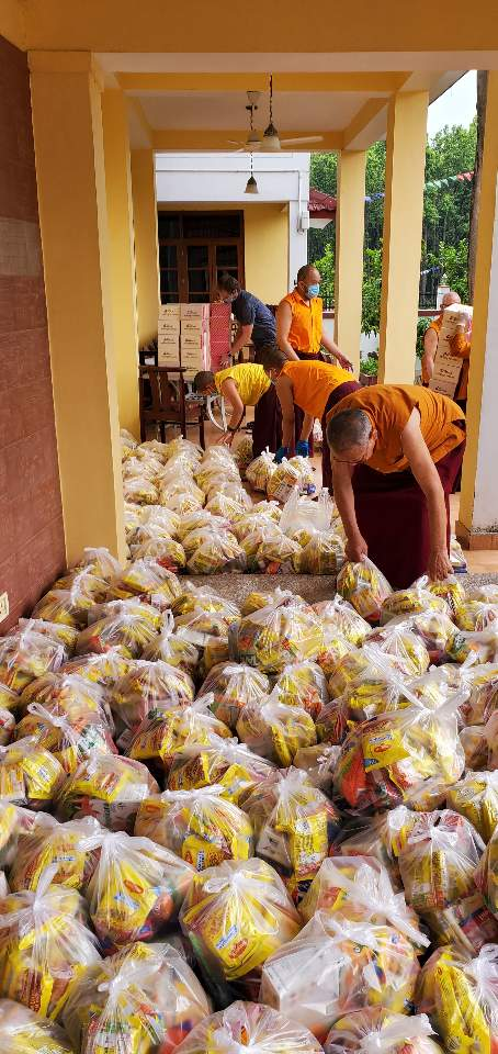Pandemic Relief Effort at Mindrolling