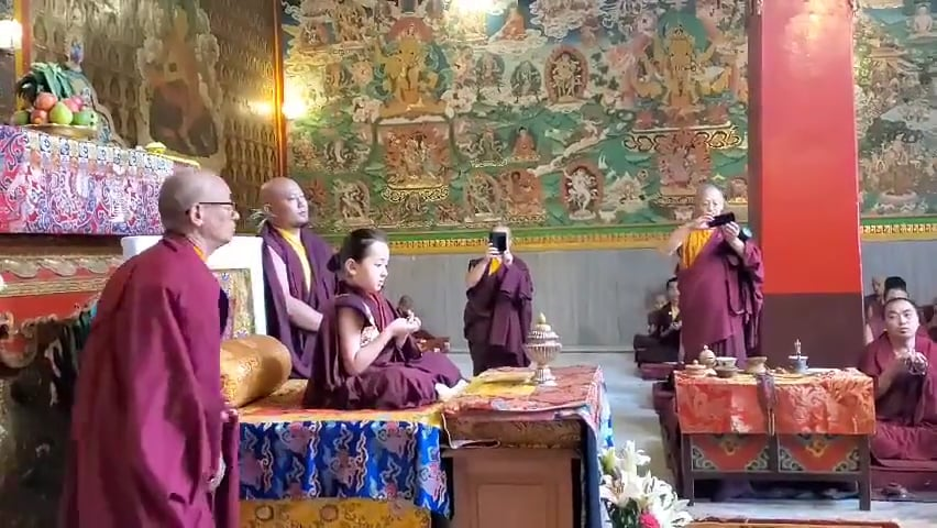 Dugnse Rinpoche's 6th Birthday