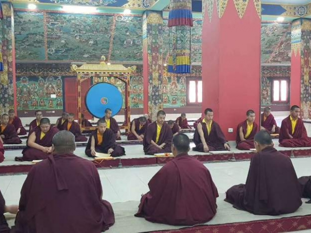 Prayer Ceremony at Mindrolling